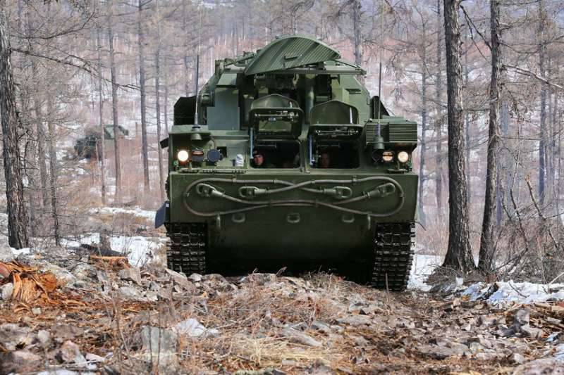 Комплексы ПВО «Тор-М2» поступили на вооружение зенитного подразделения на Кавказе