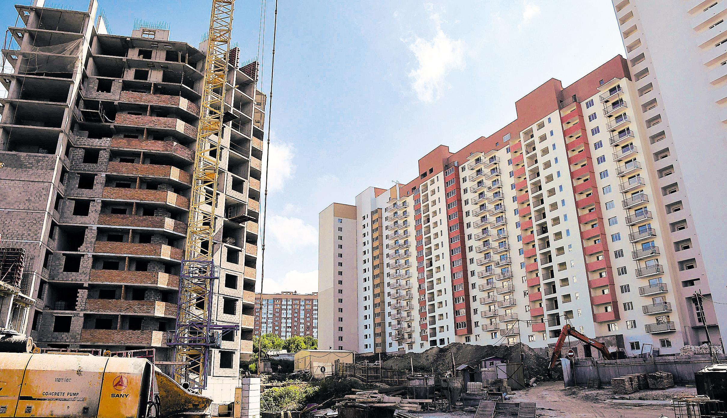 Ввод жилья в Самарской области за 9 месяцев вырос на 10,3%