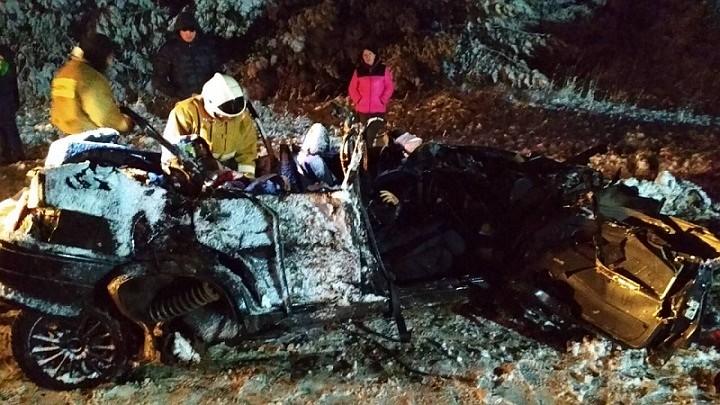 Пять человек погибли в ДТП на границе Удмуртии и Татарстана
