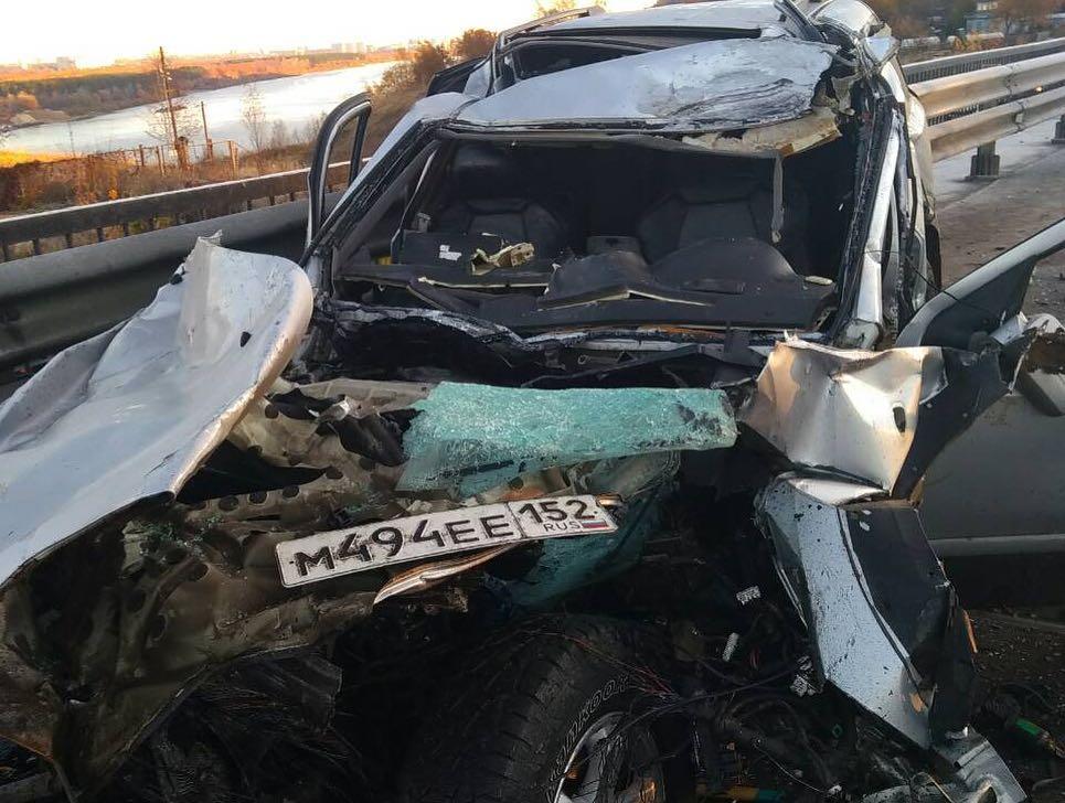 В ДТП с автобусом в Нижнем Новгороде погиб один и пострадали 13 человек