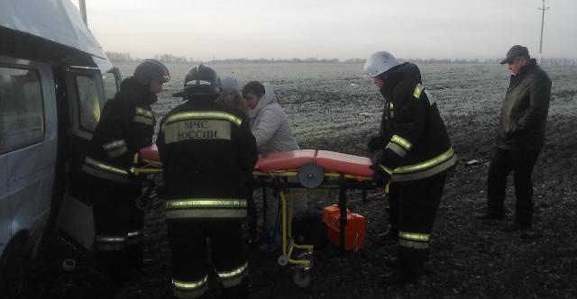 В ДТП с маршруткой в Ульяновской области пострадали 19 человек