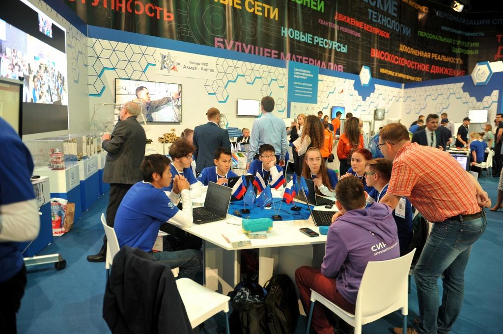 На Всероссийском форуме «Проектория» представят проекты Концерна ВКО «Алмаз-Антей»
