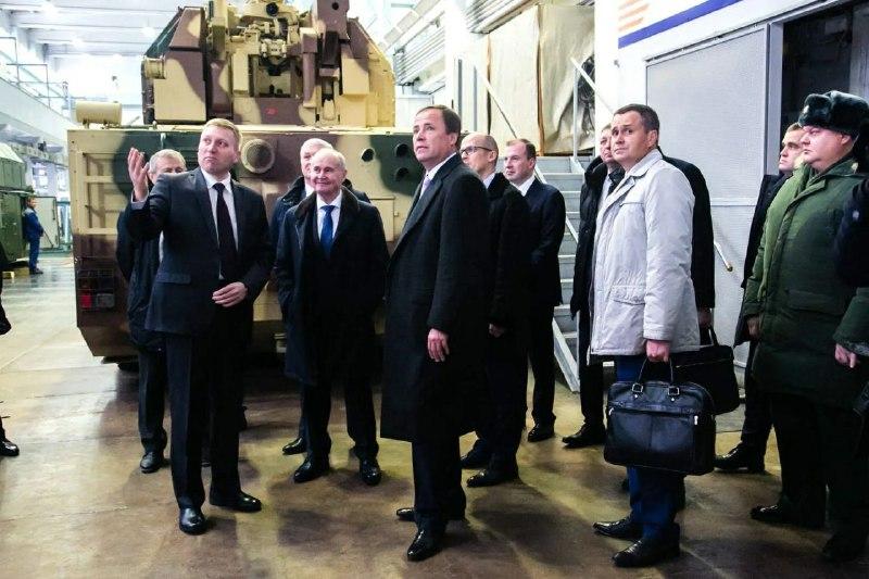 Полпред Президента РФ в ПФО Игорь Комаров побывал с рабочим визитом на ИЭМЗ «Купол»
