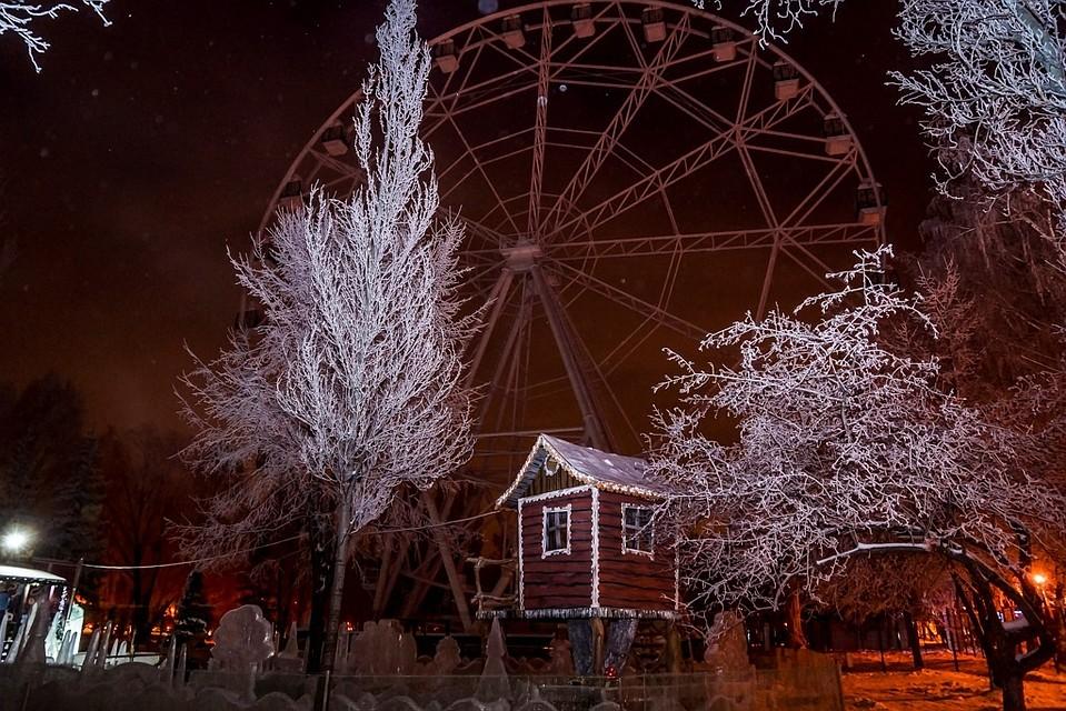 Новое колесо обозрения заработает в самарском парке Гагарина