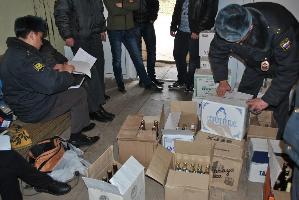 Группа бутлегеров задержана в Саратовской области