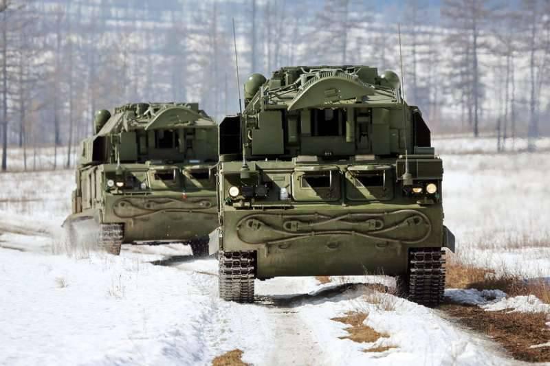 На учениях ПВО под Волгоградом зенитчики отразили условное нападение с воздуха