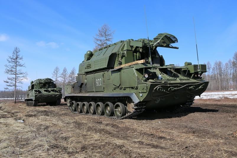 Комплексную тренировку подразделений ПВО провели на волгоградском полигоне