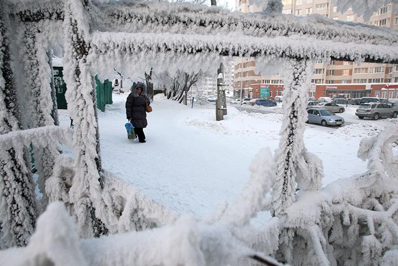 Жителей Поволжья в выходные ждут тридцатиградусные морозы