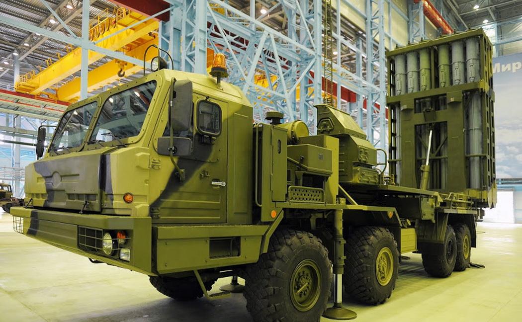 Учебный центр зенитных ракетных войск в Гатчине первым получит новый ЗРК С-350 «Витязь»