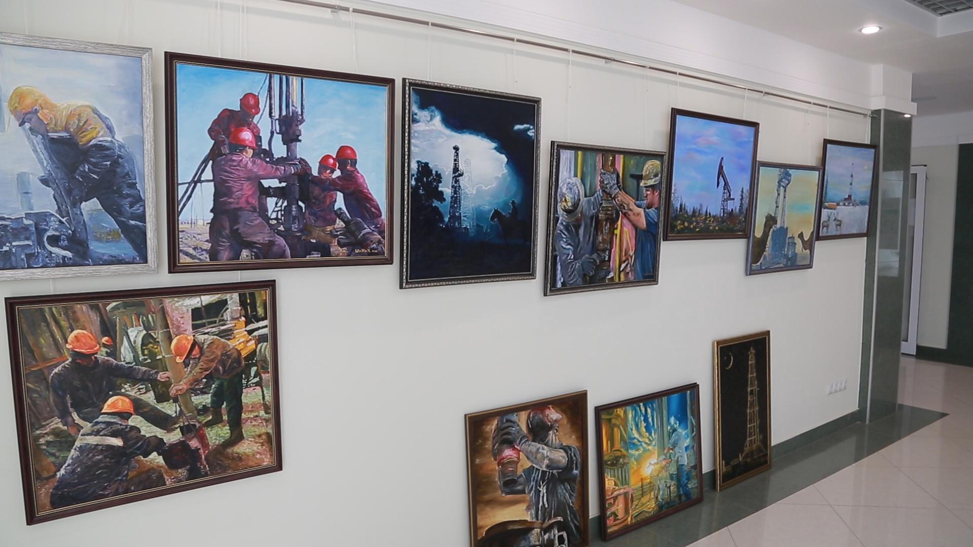 В Самаре пройдет выставка картин, написанных нефтью