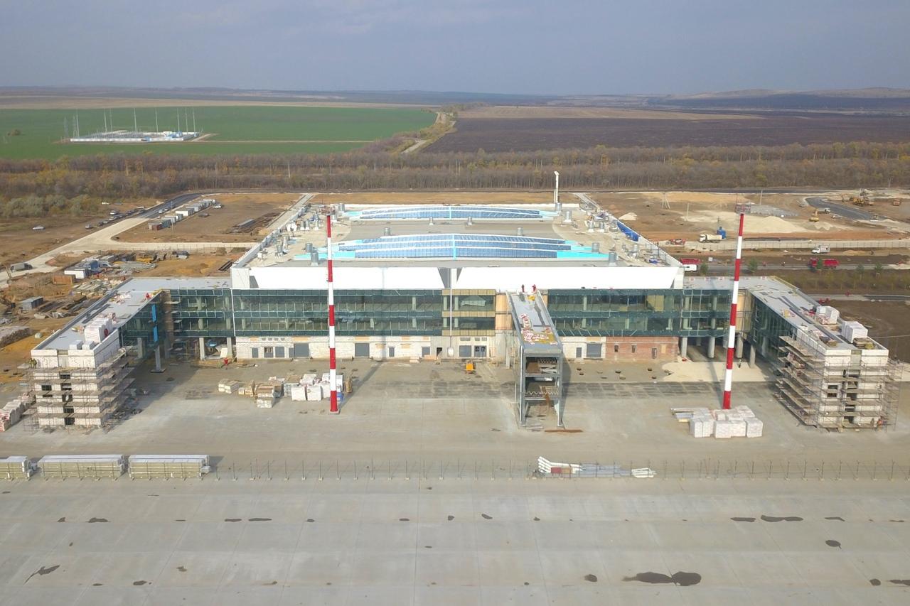 Новый аэропорт Саратова может открыться в августе