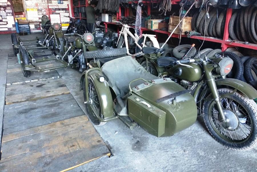 Уральские байкеры на мотоциклах военной поры примут участие в параде Победы