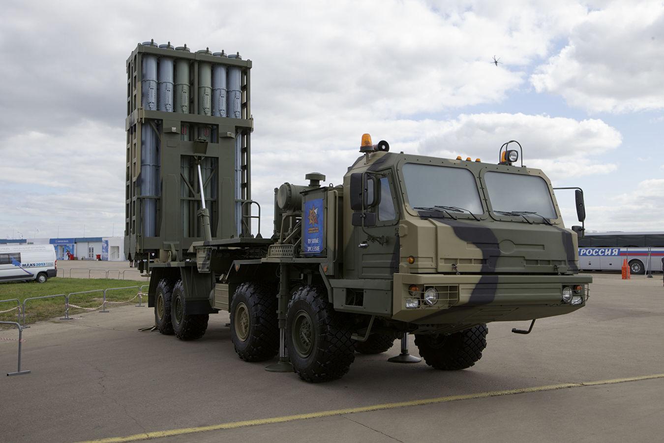 Поставка в войска ЗРК С-350 «Витязь» начнётся с приграничных полков