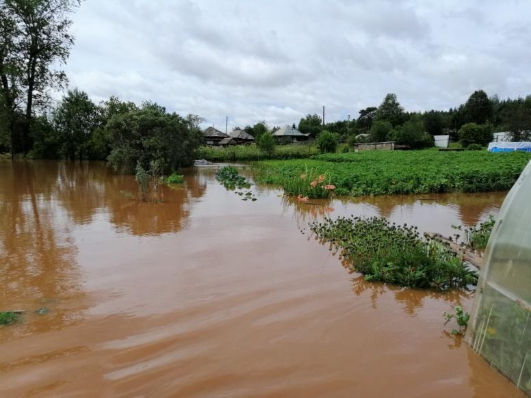 Жителей одного из райцентров Пермского края эвакуируют из-за подтопления