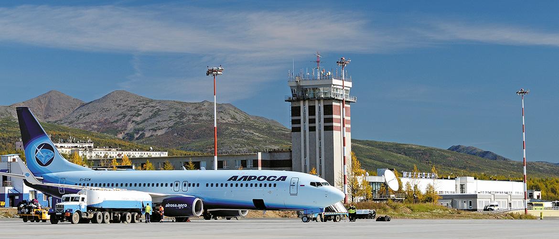 Международный аэропорт Магадана оснастят новой  аэронавигационной системой