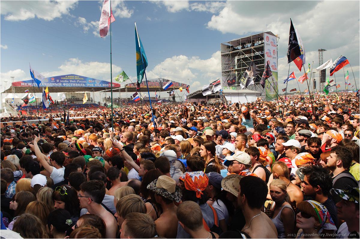 Самарские власти намерены возродить фестиваль «Рок над Волгой» в 2020г