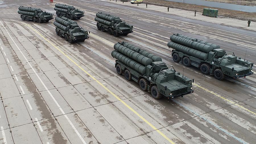 В Индии ждут начала поставок российских ЗРК С-400 «Триумф»