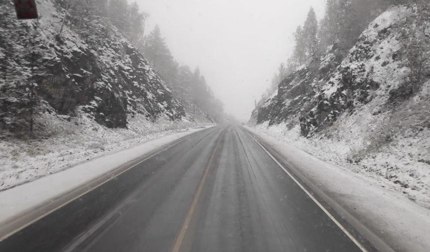 В трех регионах Урала выпал первый снег