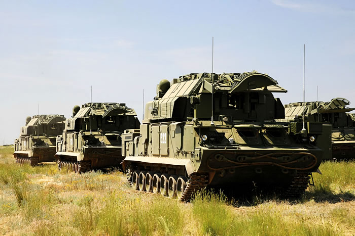 На боевое дежурство в Бурятии впервые заступили комплексы ПВО «Тор-М2У»