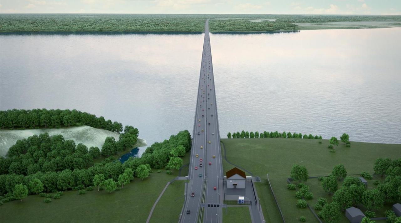 Мост через Волгу за 120 млрд рублей построит консорциум Автодора и Мостотреста