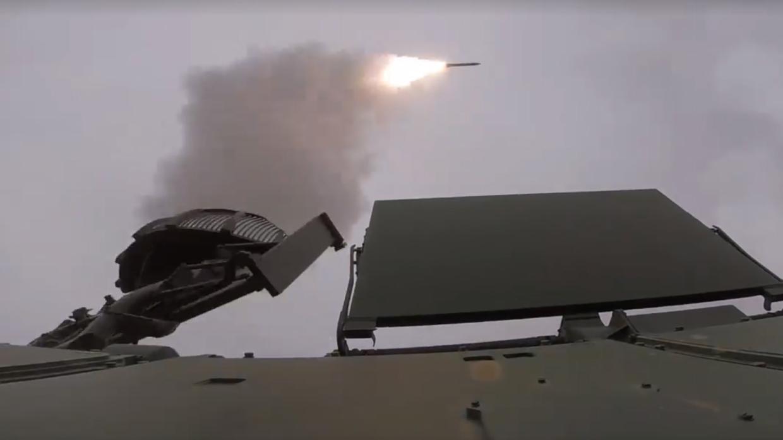 Стыковочные стрельбы ЗРК «Тор-М2» прошли на полигоне Капустин Яр