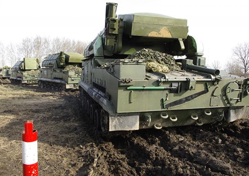 Подразделения ПВО Балтфлота осваивают ЗРК «Тор-М2»