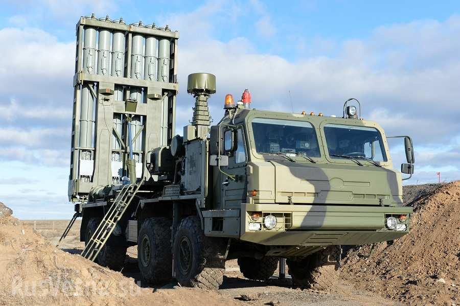Новейшие ЗРК С-350 «Витязь» получит в текущем году первый полк ВКС РФ
