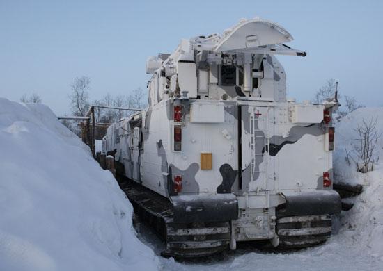 В Мурманской области заступил на боевое дежурство дивизион ЗРК «Тор-М2ДТ»