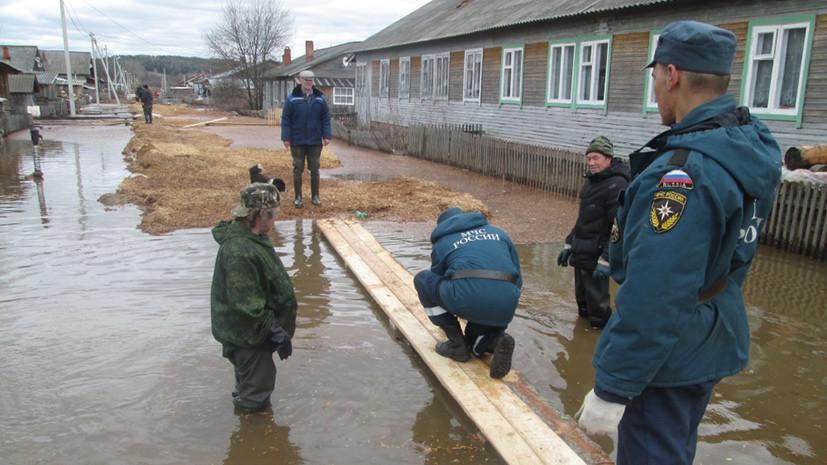 В МЧС не исключают повторения сильного паводка в Удмуртии нынешней весной