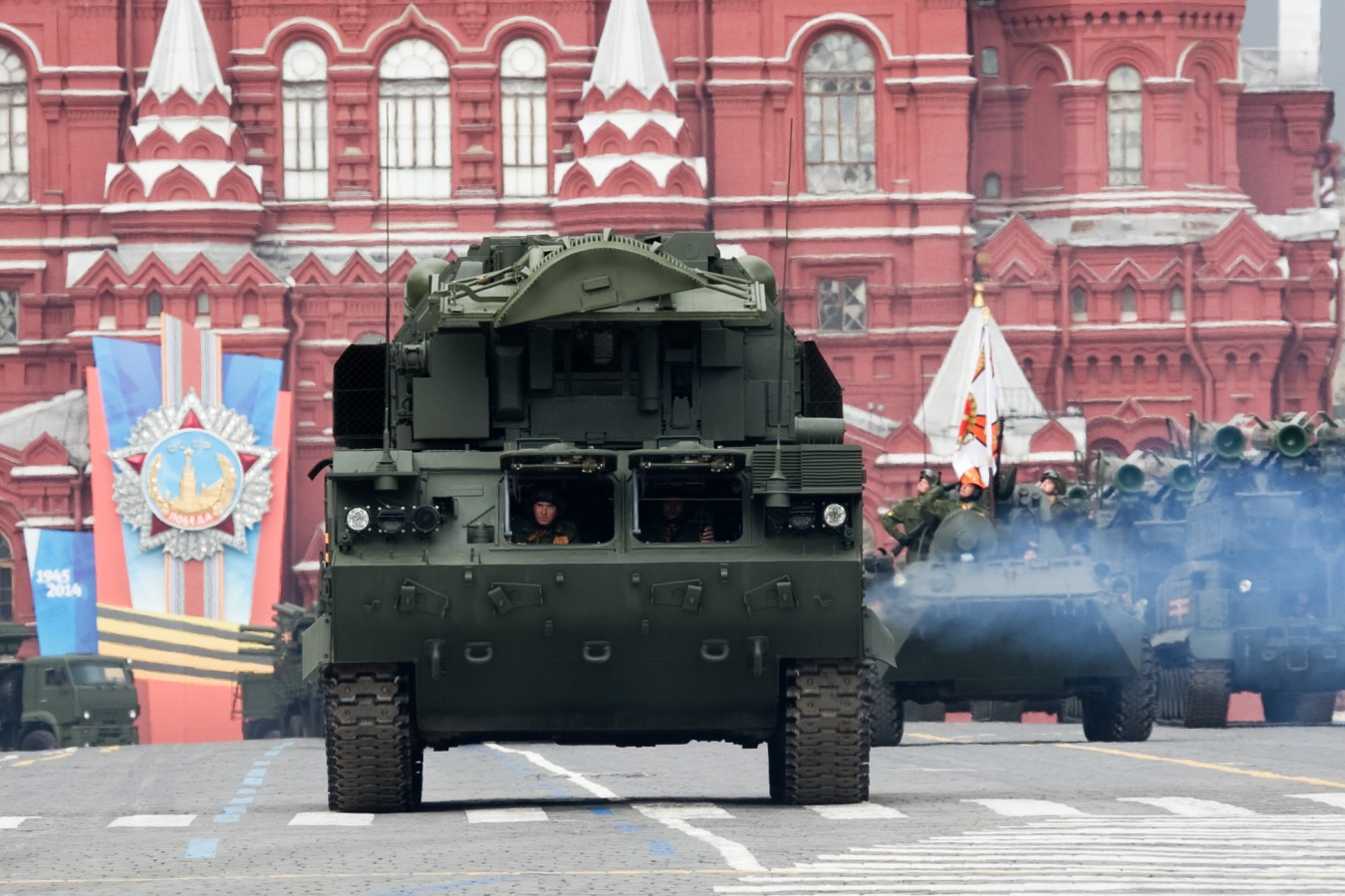Зенитные комплексы Ижевского завода «Купол» примут участие в Параде на Красной площади