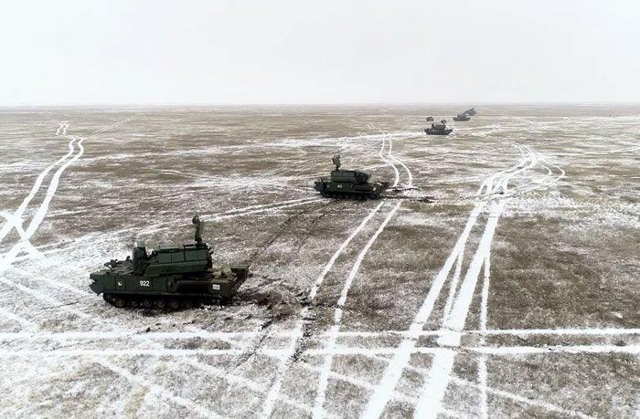 Учебные стрельбы новейших ЗРК «Тор-М2У» состоялись на полигоне в Бурятии