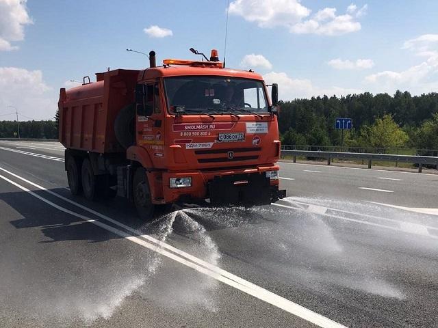 На трассах Южного Урала ввели ограничения из-за жары