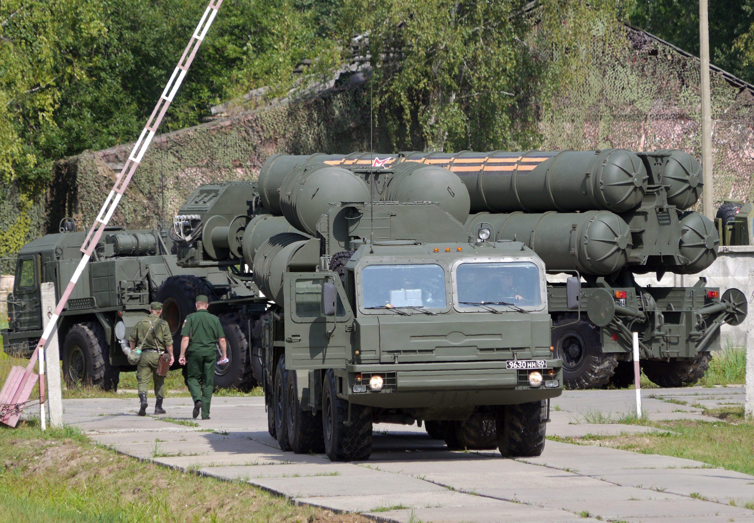 Зенитный ракетный полк ВКС, защищающий Москву, провёл учения ПВО