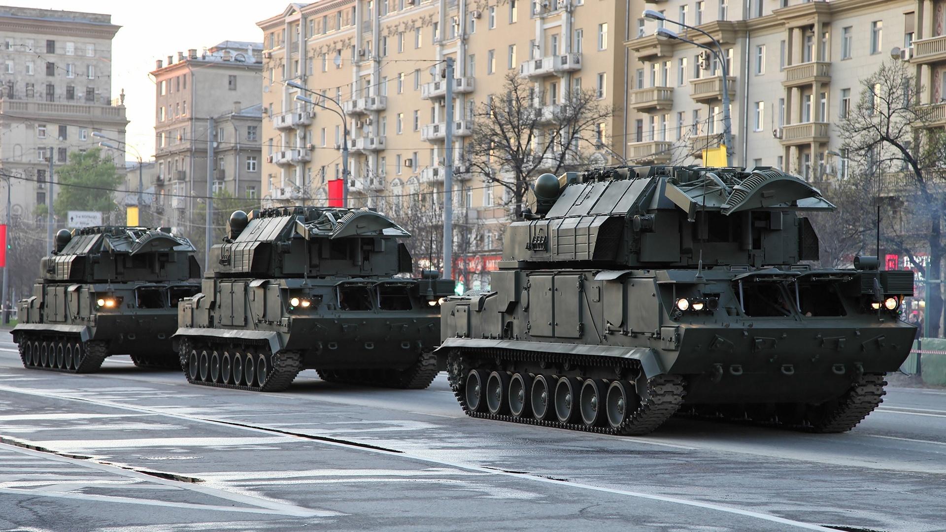 Противовоздушную оборону Волгоградской области обеспечил ЗРК «Тор-М2»
