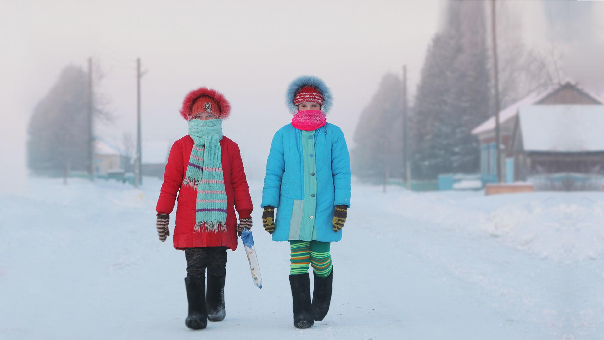 В Ульяновской области и Мордовии из-за морозов отменили занятия в школах