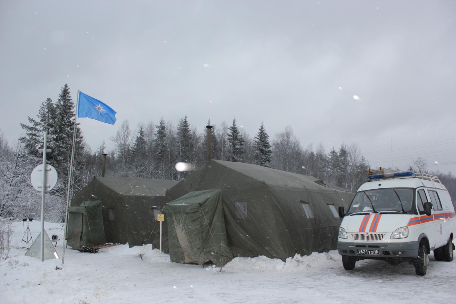 Пункты обогрева развернуты у дорог в Ульяновской области из-за морозов