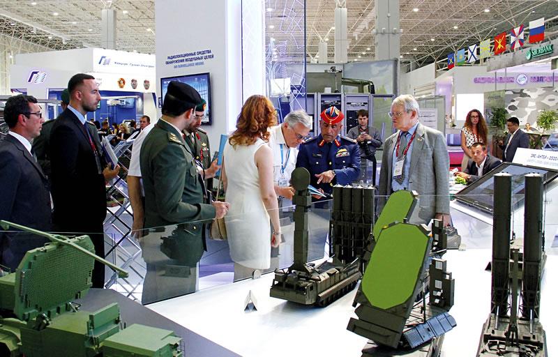 Концерн «Алмаз-Антей» примет участие в выставке вооружений IDEX-2021 в Абу-Даби