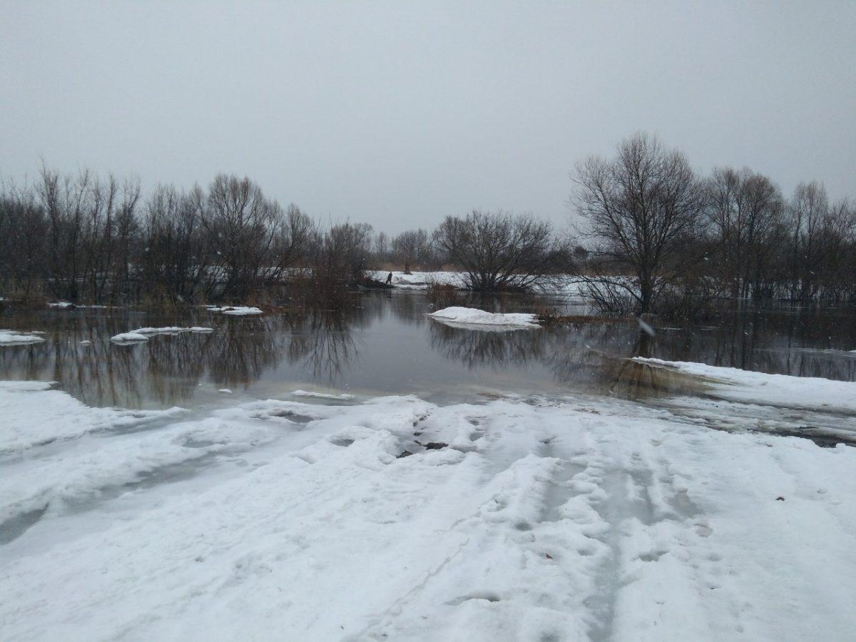 Паводок начался в Нижегородской области