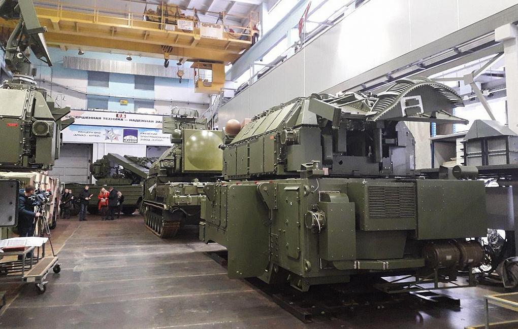 Минобороны РФ заключило с заводом «Купол» госконтракт на поставки ЗРК «Тор»