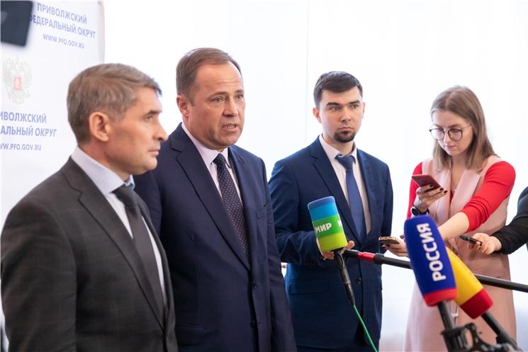 Полпред президента в ПФО представил врио главы Чувашии Олега Николаева