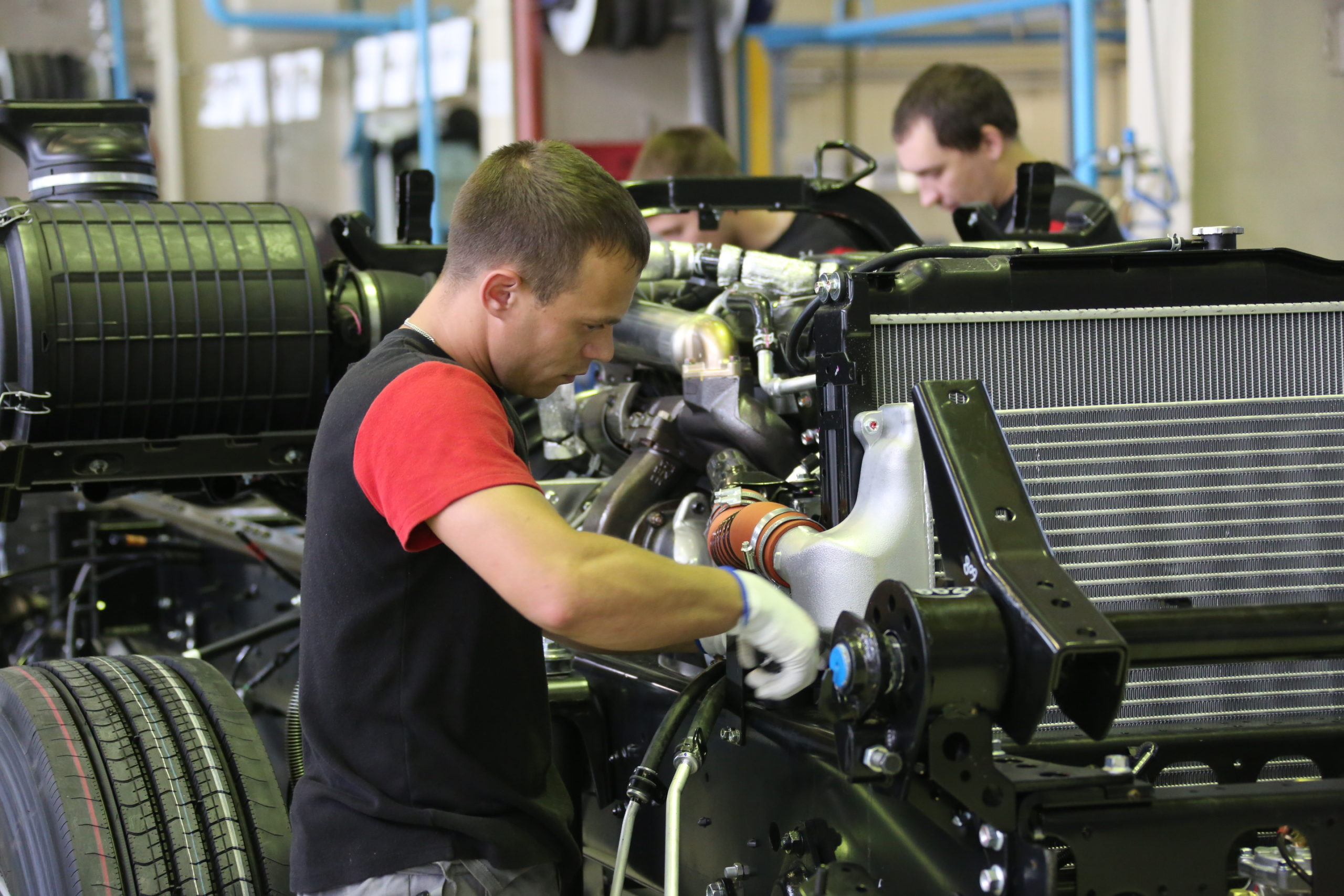 Завод Isuzu в Ульяновске возобновил производство