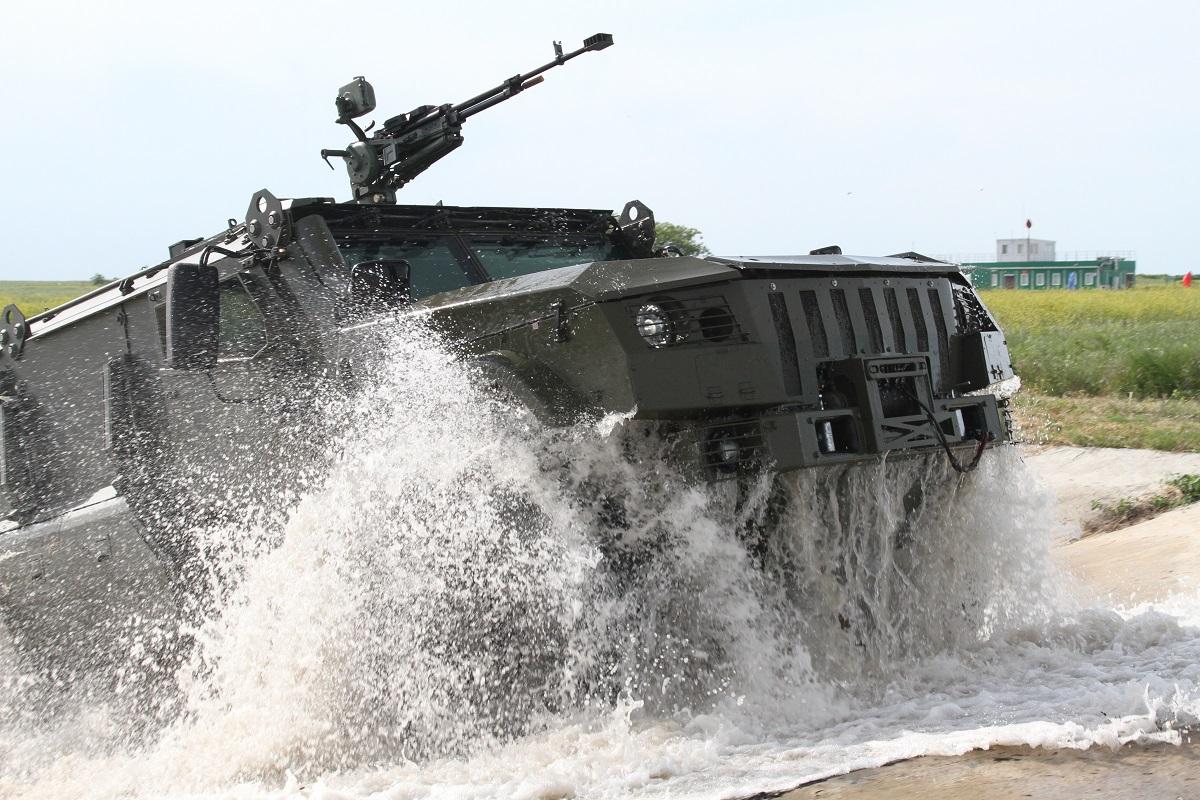 Армейские бронеавтомобили «Тайфун-ПВО» примут участие в параде Победы в Москве