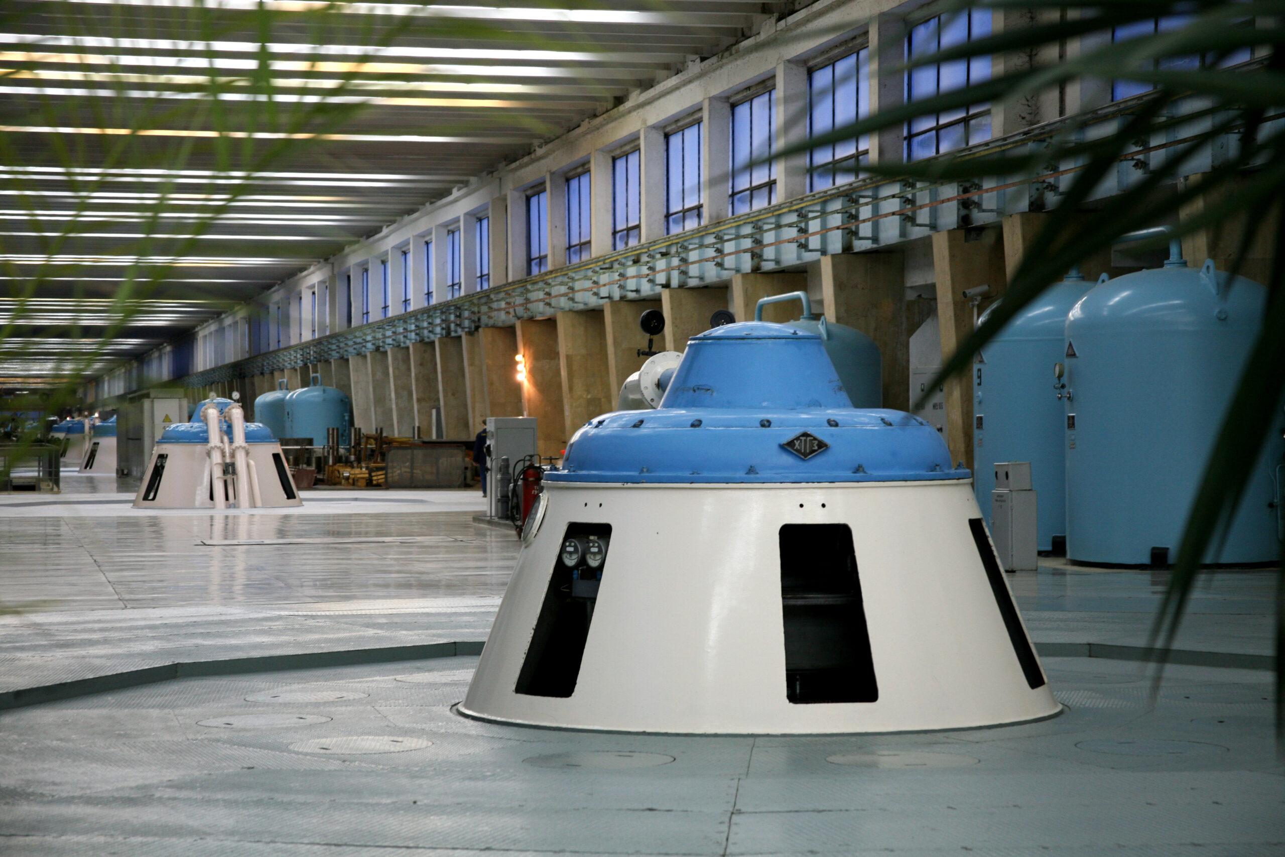 РусГидро обновило очередной гидроагрегат Саратовской ГЭС