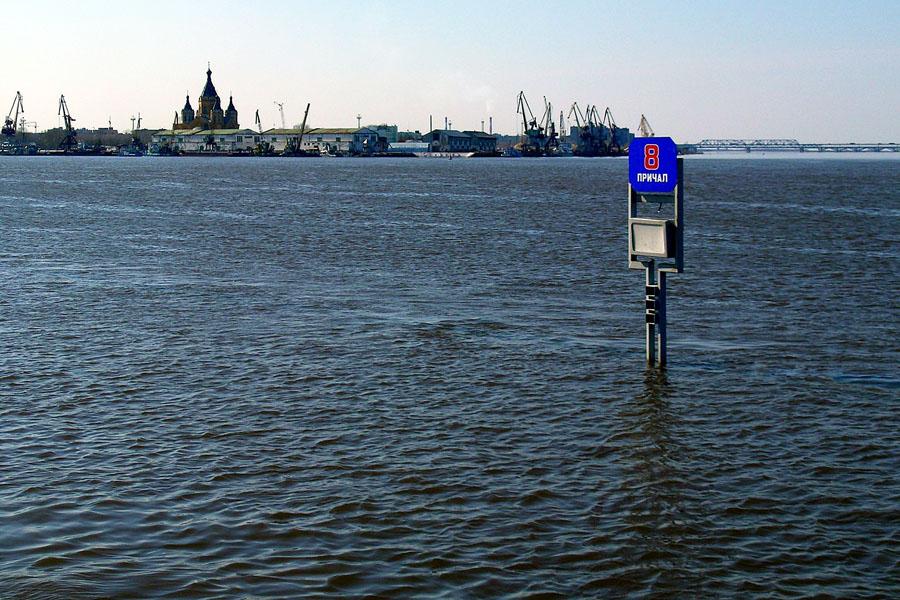 Подъем уровня воды в Волге и устье Оки прогнозируется в Нижегородской области