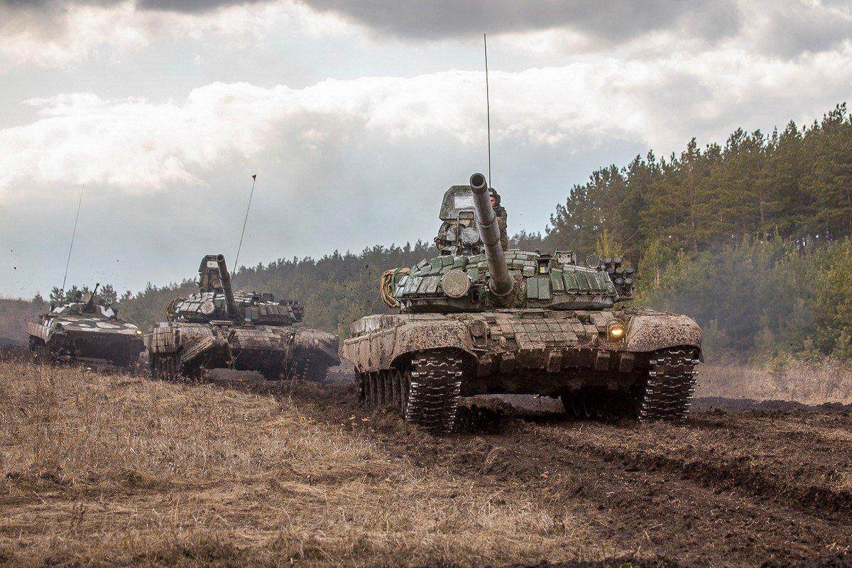 Учение танковой дивизии ЦВО завершилось на Урале