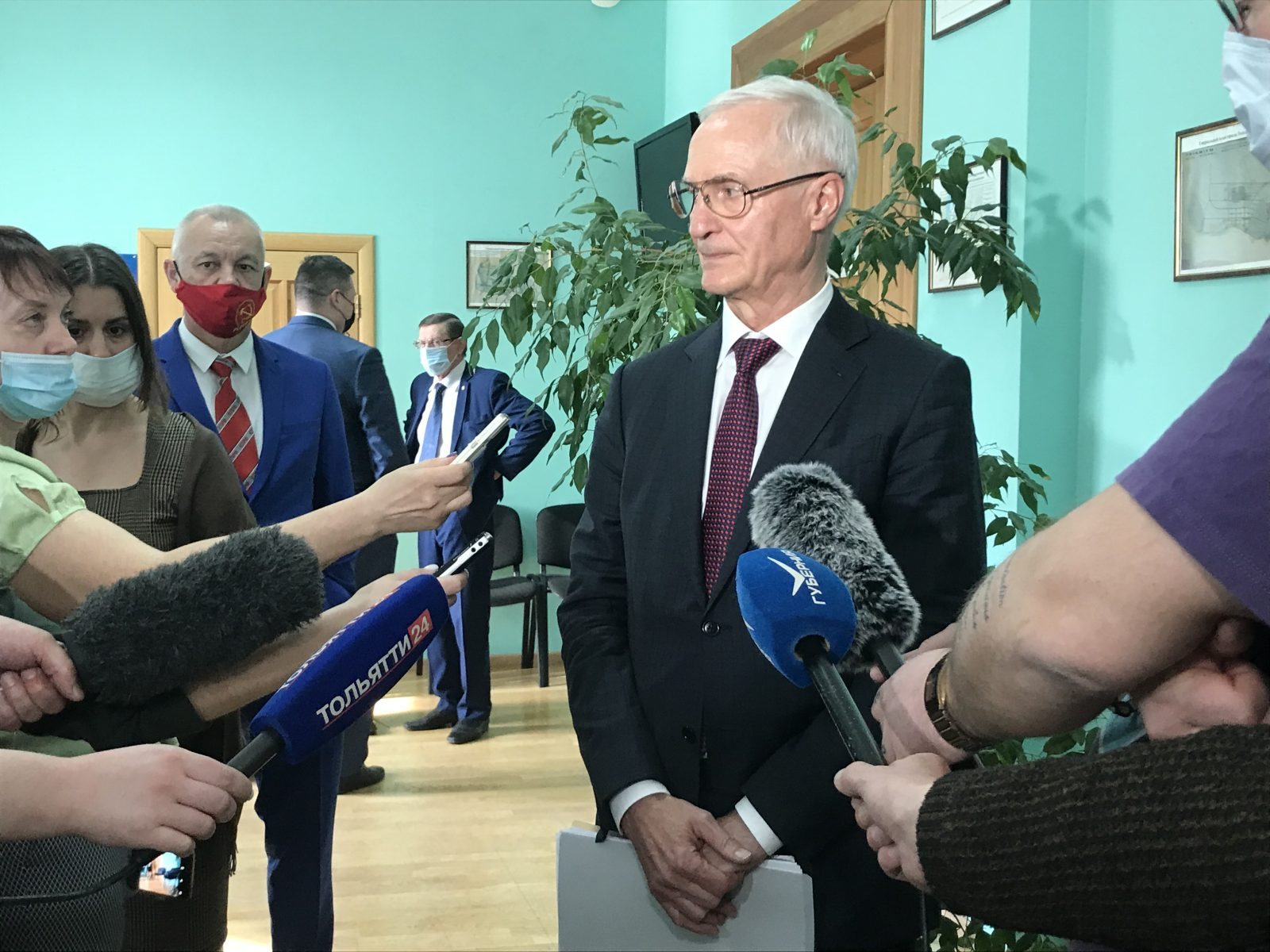 Главврач COVID-госпиталя стал новым мэром Тольятти