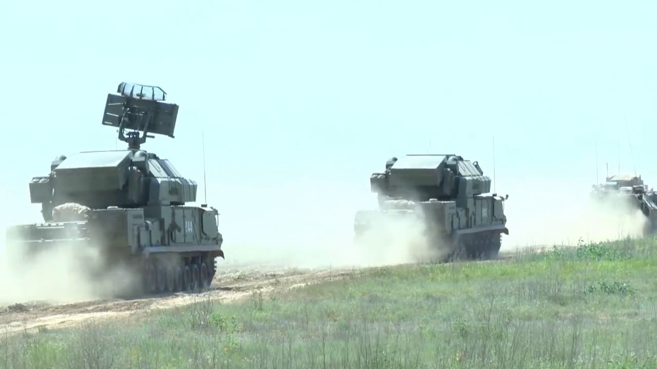 В Нижегородской области расчеты ЗРК «Тор-М2» уничтожили более 40 целей в рамках учений