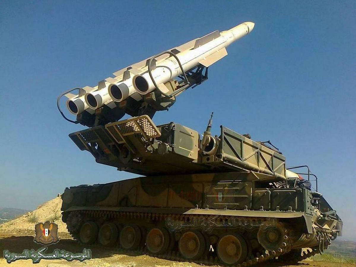 Сирийские ПВО отразили ракетную атаку ВВС Израиля в провинции Дамаск